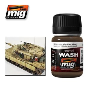 Ammo of MIG . MGA US MODERN VEHICLES WASH