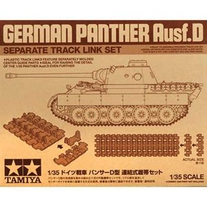 Tamiya America Inc. . TAM 1/35 TRACK LINK SET FOR PANTHER AUSF.D