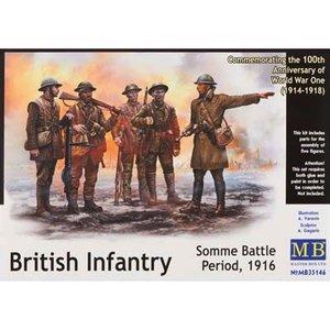 Masterbox Models . MTB 1/35 BRITISH INFANTRY SOMME BATTLE 1916