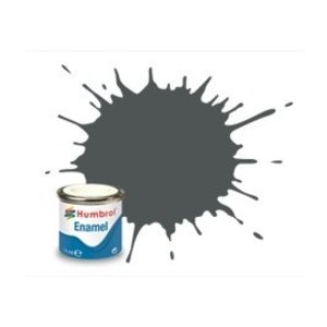 Humbrol Paint . HUM ENAMEL - MATT GREY