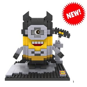 RC Pro . RCP BRICKS FIGURES MINION BATMAN