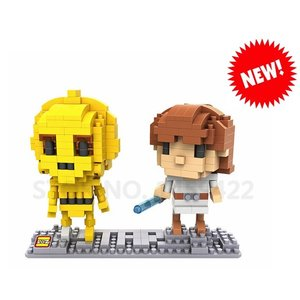 RC Pro . RCP BRICKS FIGURES LUKE & C-3PO