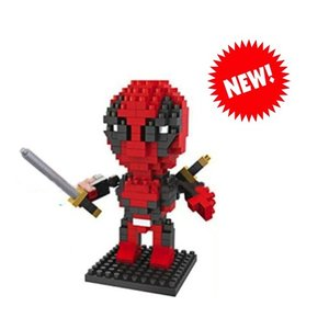 RC Pro . RCP BRICKS FIGURES DEADPOOL