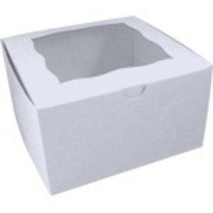 Retail Supplies . RES 7x7x4 WHITE BOX