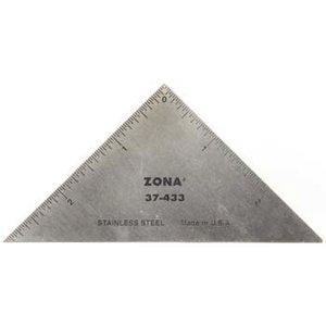 Zona Tool Company . ZON METAL RULER 3 TRIANGLE