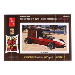 AMT\ERTL\Racing Champions.AMT 1/25 BARRIS SURF WOODY