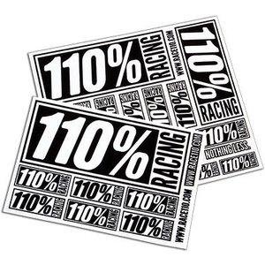 Ty Tessmann . TYT 110% LOGO STICKERS