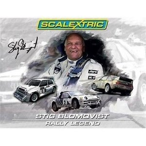Scalextric . SCT RALLY LEGEND STIG BLOMQVIST