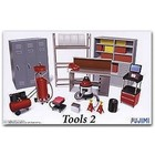 Fujimi Models . FUJ 1/24 GARAGE TOOLS SET #2