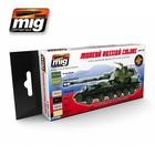 Ammo of MIG . MGA MODERN RUSSIAN CAMO COLORS ACRYLIC SET