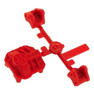 Axial . AXI AR44 DIFF COVER/LINKS RED