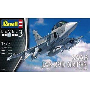 Revell of Germany . RVL 1/72 SAAB JAS-39D GRIPEN