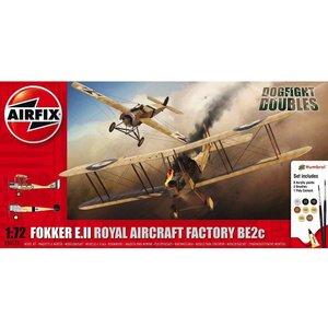 Airfix . ARX 1/72 Foker Eii/Be2C Dog Fight Double