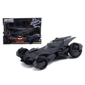 Jada Toys . JAD 1/24 BATMAN VS SUPERMAN BATMOBILE