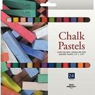 Pro Art . PAT CHALK PASTEL 24 COLORS