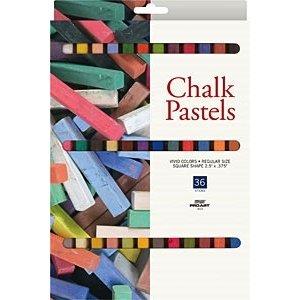 Pro Art . PAT CHALK PASTEL 36 COLORS