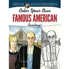 Dover Publishing . DOV FAMOUS AMERICAN COLOR B
