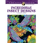 Dover Publishing . DOV INCREDIBLE INSECT CLR BK