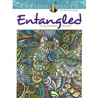 Dover Publishing . DOV ENTANGLED COLORING BOOK