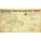 Meng . MEG RUSSIAN LIGHT AA GUN SET
