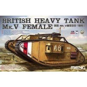 Meng . MEG 1/35 BRIT HVY TANK MK.V FEM
