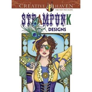 Dover Publishing . DOV STEAMPUNK DESIGNS CR BK