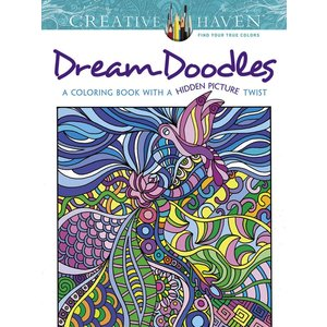 Dover Publishing . DOV DREAM DOODLES CLR BK