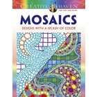 Dover Publishing . DOV MOSAICS - DESIGN CLR BK