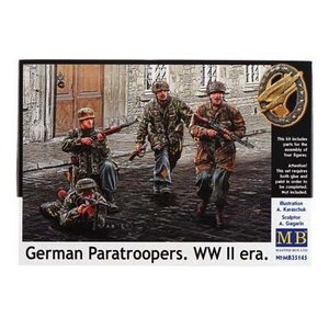 Masterbox Models . MTB 1/35 GERMAN PARATROOP WWII