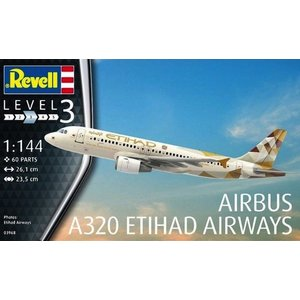 Revell of Germany . RVL 1/144 AIRBUS A320 ETIHAD