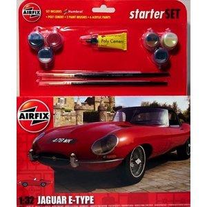 Airfix . ARX Starter Set E Type Jaguar1/32