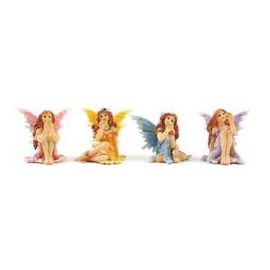 Midwest Design . MWD SHIMMER SITTING FAIRIES
