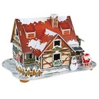 Daron Worldwide Trading . DRN 3D LED X-MAS HOUSE PUZZ