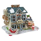Daron Worldwide Trading . DRN 3D LED X-MAS CANDY SHOP PUZZLE