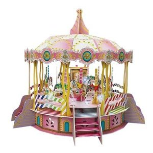 Daron Worldwide Trading . DRN 3D LED MERRY GO ROUND PUZZLE