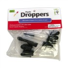 "American Educational Products . AEP DROPPERS 3"" STRAIGHT PLASTIC (12)"
