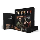 Mig Productions . MIG FLESH WEATHERING OIL PAINT SET (6 COLOR)
