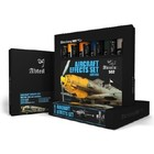 Mig Productions . MIG AIRCRAFT EFFECTS WEATHERING OIL PAINT SET