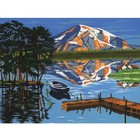 Colart Color & Co . COL LAKE/BOAT/DOCK P BY # 11.5X15.5