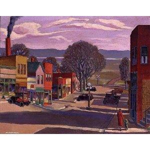 Plaid (crafts) . PLD PARKVILLE MAIN STREET 1930