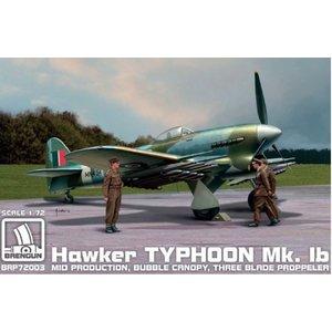 Brengun Models . BGN 1/72 HAWKER TYPHOON MKIB MID PROD.