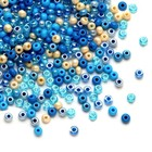 John Bead Corporation . JBC SEED BEAD - BLUE LACE MIX