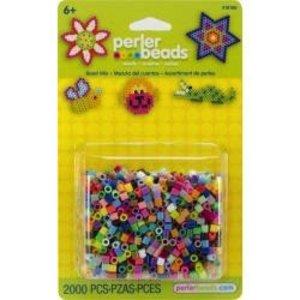 Perler (beads) PRL PERLER BEAD MIX MULTI 2000