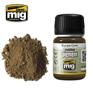 Ammo of MIG . MGA EUROPE EARTH PIGMENT