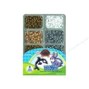 Perler (beads) PRL PERLER BEADS KIT NEUTRALS 2000 PC