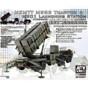AFV Club Hobby Fan . AFV 1/35 HEMTT M983 TRACTOR & M901 LAUNCH