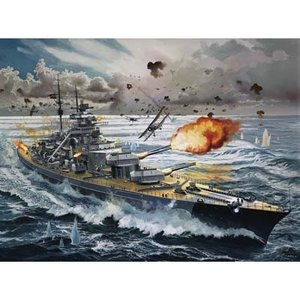 Revell of Germany . RVL 1/350 BISMARK BATTLESHIP