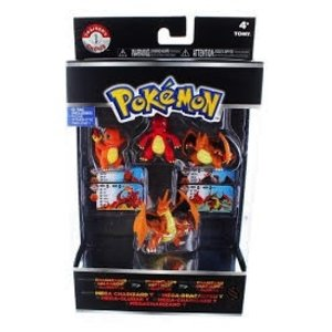 Tomy . TMY POKEMON 4 FIGURE PK