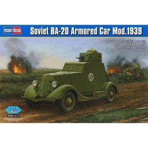 Hobby Boss . HOS 1/35 SOVIET BA-20 ARMORED CAR 1939
