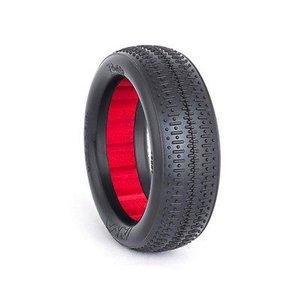 AKA . AKA 1/10 EVO BUGGY PINSTRIPE 2WD FR ULTRA SOFT RED INS